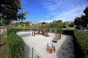 Children's play area at Apartments Lara Pula