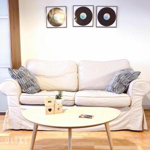 Гостиная зона в Uman City Studio-Flemingsgatan