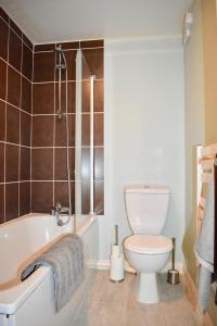 Ein Badezimmer in der Unterkunft 1 Bedroom Central Flat