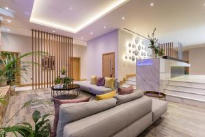 The lobby or reception area at Sanctum International Serviced Apartments Belsize