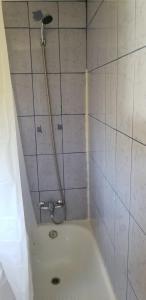 A bathroom at Cabaña