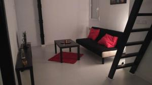 Ein Sitzbereich in der Unterkunft Luz de Chamberí