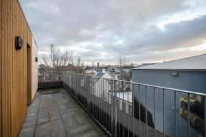 A balcony or terrace at Planet Apartments