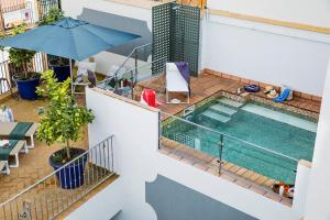 A view of the pool at Matahacas Pool & Luxury or nearby