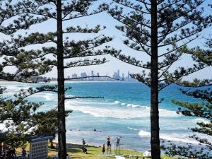Burleigh By The Sea during the winter