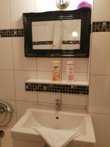 A bathroom at City Apartment Berlin Mitte