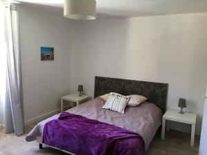 Posteľ alebo postele v izbe v ubytovaní La Maison Haute