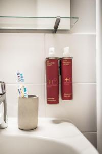 A bathroom at Urbn Dreams (Bänschstraße)