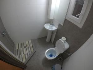 A bathroom at Aphroditi Apartment