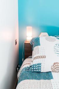 Łóżko lub łóżka w pokoju w obiekcie LP Anne