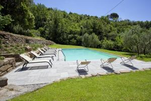 The swimming pool at or near Villa Il Sole