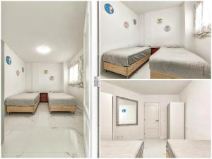 A bed or beds in a room at Apartmento Parque Royale I