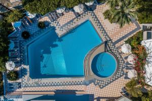 A view of the pool at Irinna Hotel-Apartments or nearby