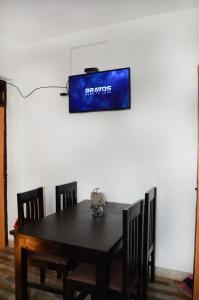 A television and/or entertainment centre at Apartment in Nepal