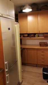 A kitchen or kitchenette at Casa con vistas