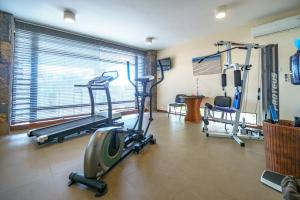 The fitness centre and/or fitness facilities at Villasun Luxury Apartments & Villas