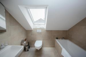A bathroom at Zurich Furnished Homes