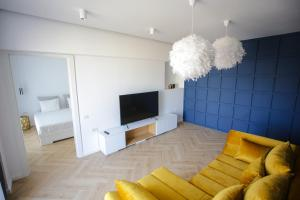 A television and/or entertainment center at Ale's Residence 2 in the Center