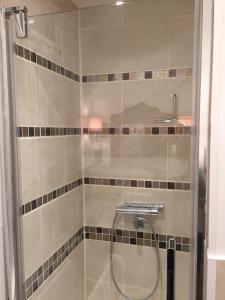 Salle de bains dans l'établissement La clé des Champs