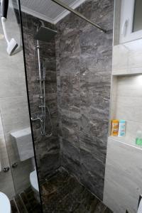 Koupelna v ubytování Apartman City Lux