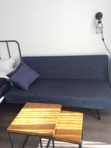 A seating area at Gudauri Loft Apartment #401