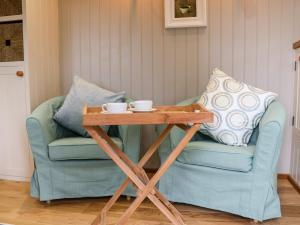 A seating area at Little Silver Leaf, Umberleigh