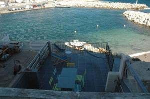 A view of the pool at appartement charmant aux goudes or nearby