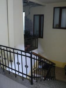 A balcony or terrace at Leila's Apartment