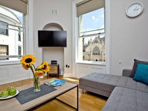 Zona de estar de Cathedral View Apartment