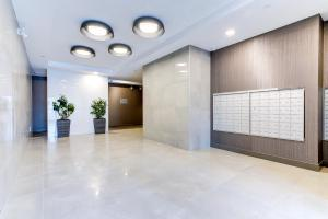 The lobby or reception area at Kanata Lakes Apartments by Corporate Stays