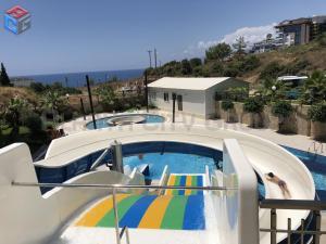 Pogled na bazen v nastanitvi Konak Seaside Resort oz. v okolici