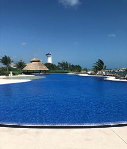 The swimming pool at or near Amara Cancun Beachfront