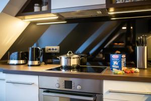 Küche/Küchenzeile in der Unterkunft Apartment Duplex in Old Town