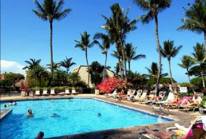 The swimming pool at or near Maui Kamaole Suites by Condominium Rentals Hawaii
