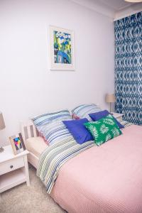 A bed or beds in a room at Apartment Samy