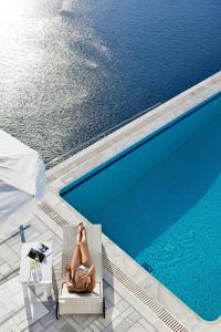 The swimming pool at or near Homeric Poems