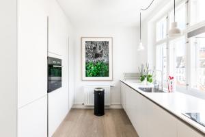 Balcon ou terrasse dans l'établissement Three-bedroom Pure-LUX apartment prime location Copenhagen
