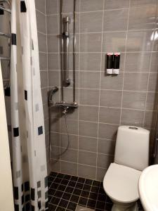 A bathroom at Studio in Helsinki city center