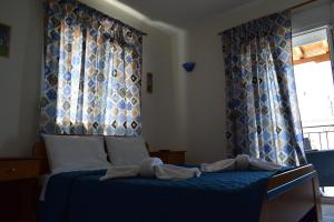 A bed or beds in a room at Mariren
