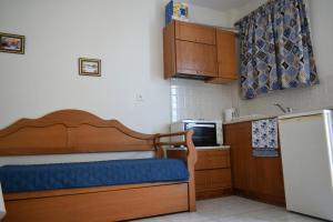 Kuchyňa alebo kuchynka v ubytovaní Mariren