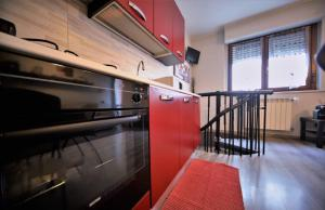 A bunk bed or bunk beds in a room at Appartamento Aleph