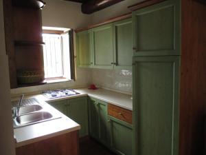 Dapur atau dapur kecil di Alloggio Laura in Residence Maremma