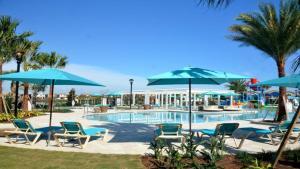 A piscina em ou perto de EV278852 - Windsor At Westside Resort - 9 Bed 6 Baths Villa