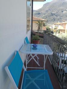 A balcony or terrace at Casa Santa Gemma