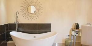 A bathroom at Cranberries Hideaway
