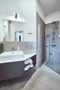 Łazienka w obiekcie Pokoje Gościnne ASP
