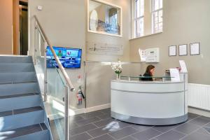 The lobby or reception area at Braid Apartments by Mansley