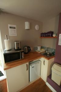 Кухня или кухненски бокс в Bath Boating Station