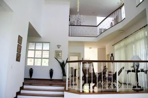 The fitness center and/or fitness facilities at CHATEAUBRIAND Luxury villa*****