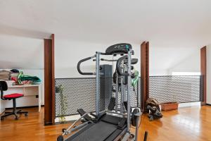 The fitness center and/or fitness facilities at Casa Giana